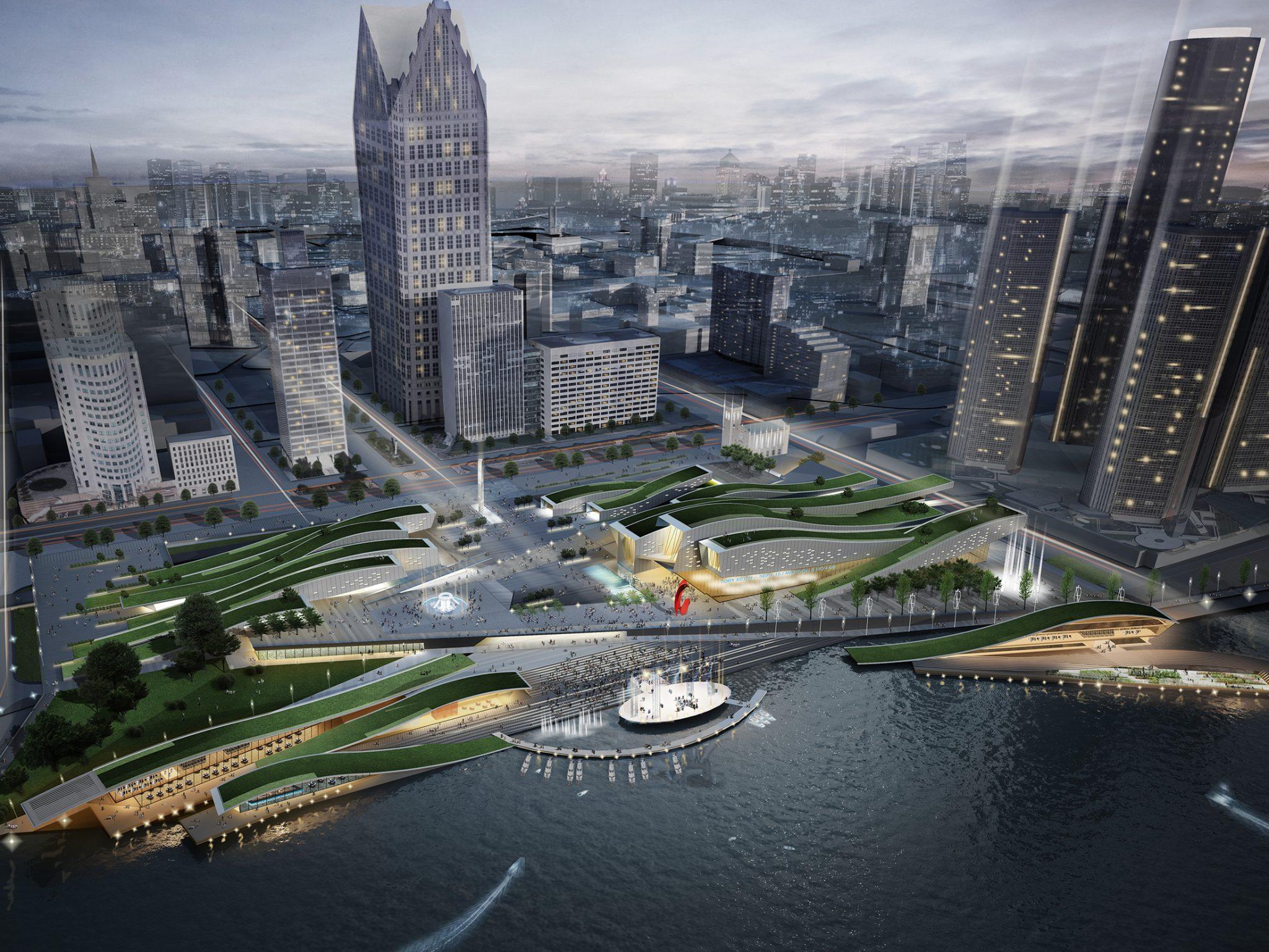 Detroit Riverfront Development