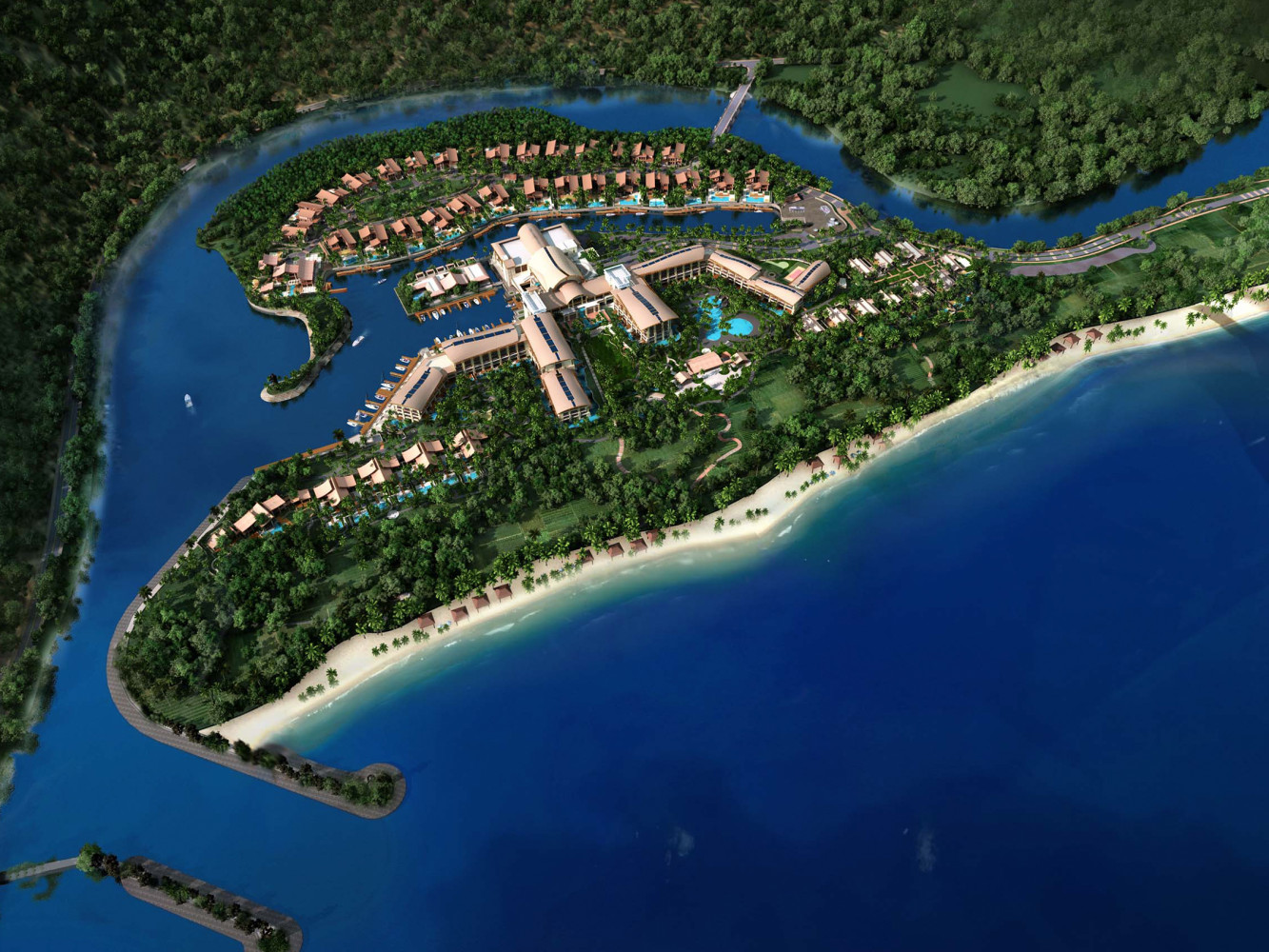 Sanya St. Regis Yalong Bay Resort, by Archilier Architecture