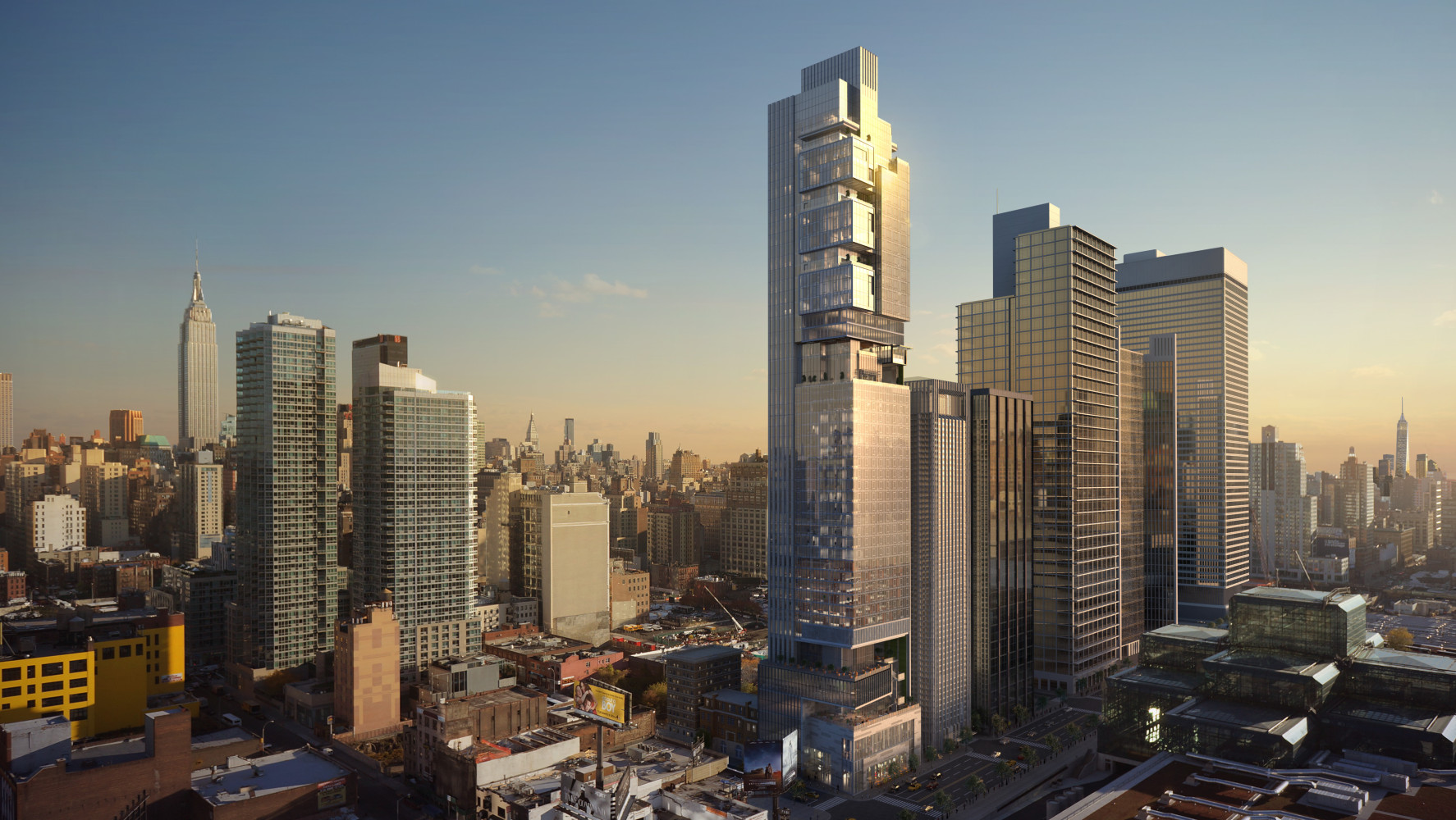 New York Hudson Yards Mixed-Use Development, by Archilier Architecture