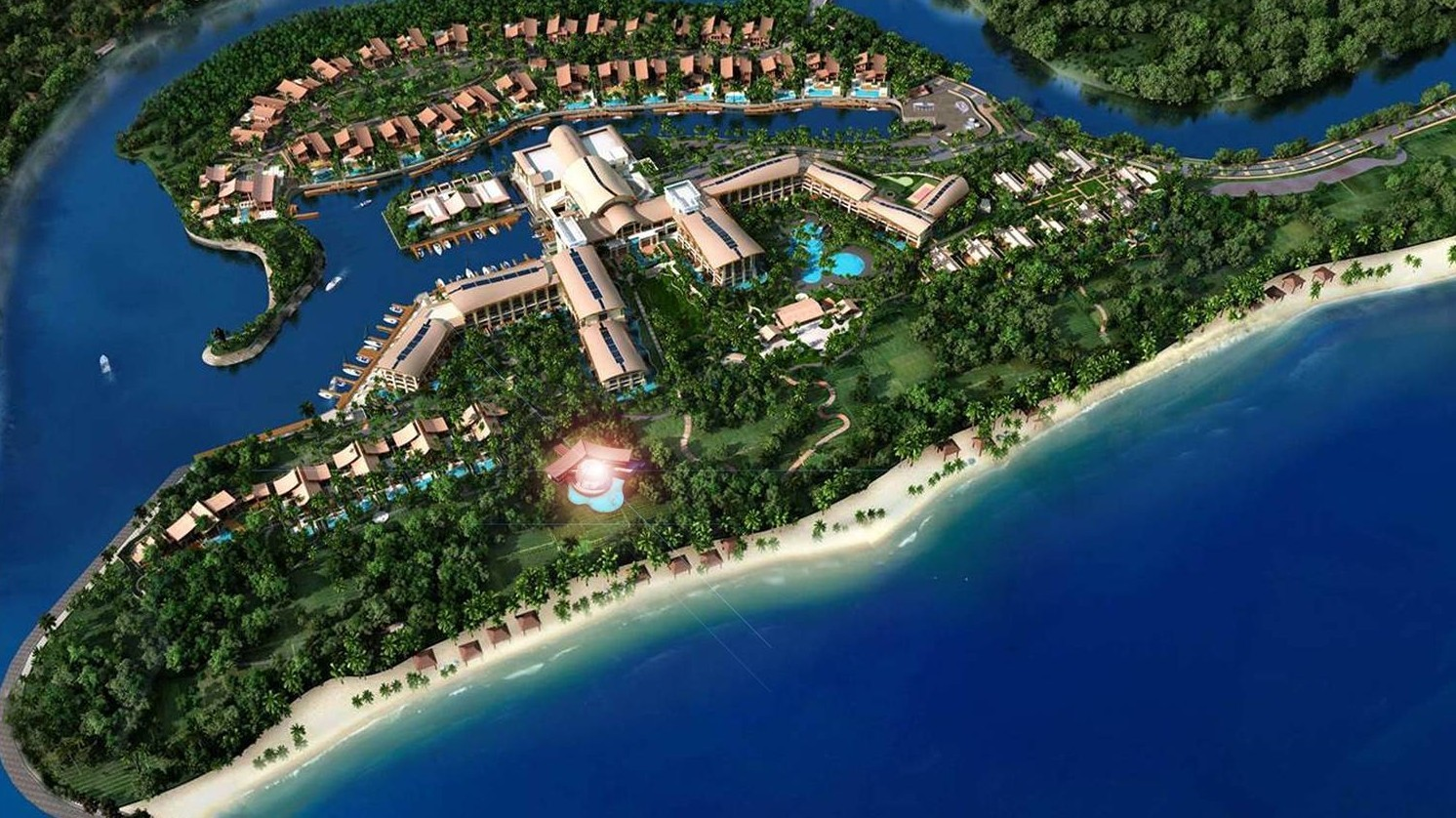 Sanya St Regis Private Club, by Archilier Architecture