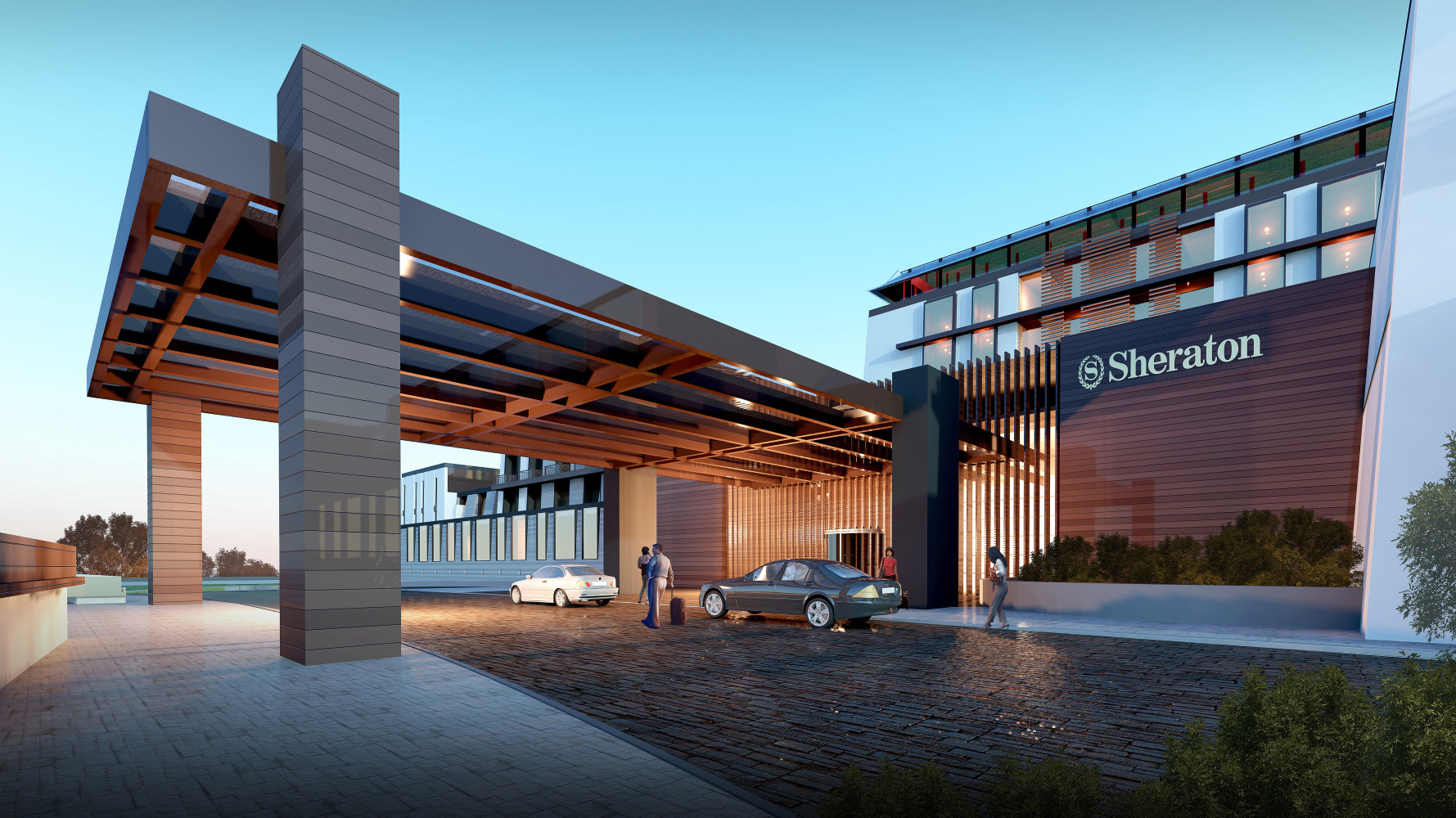 Sheraton Diqing Resort, by Archilier Architecture