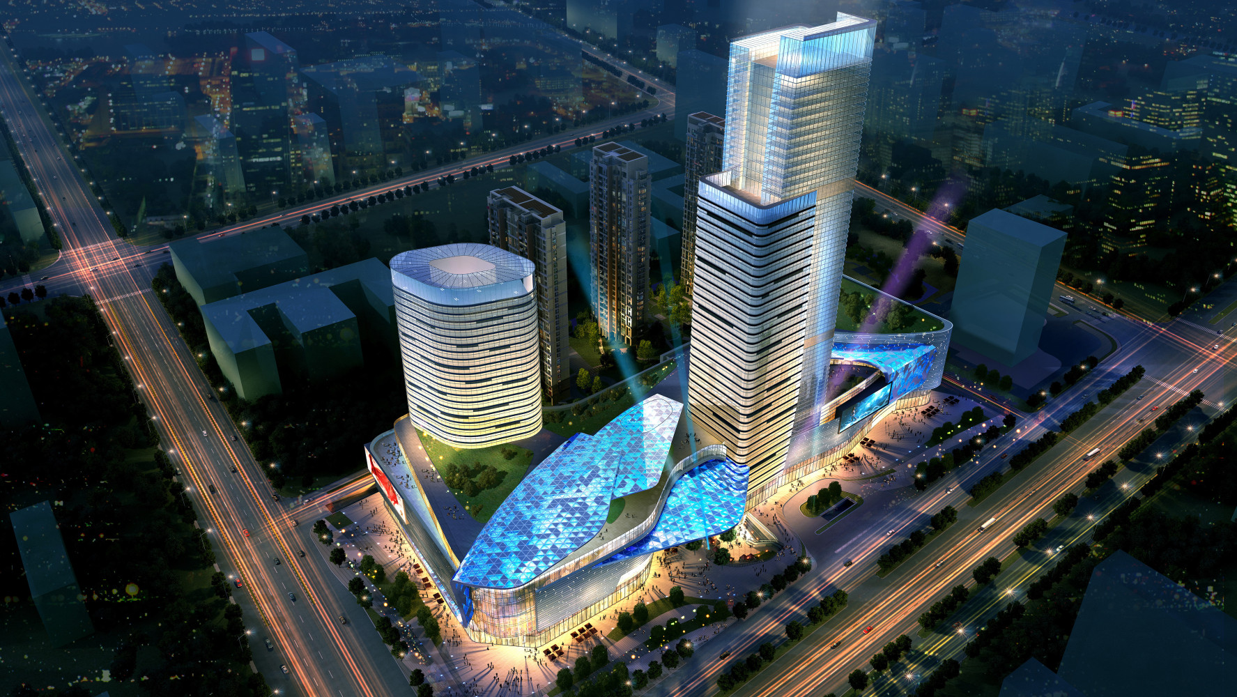 Nangtong Yuanrong Mixed-Use Complex, by Archilier Architecture