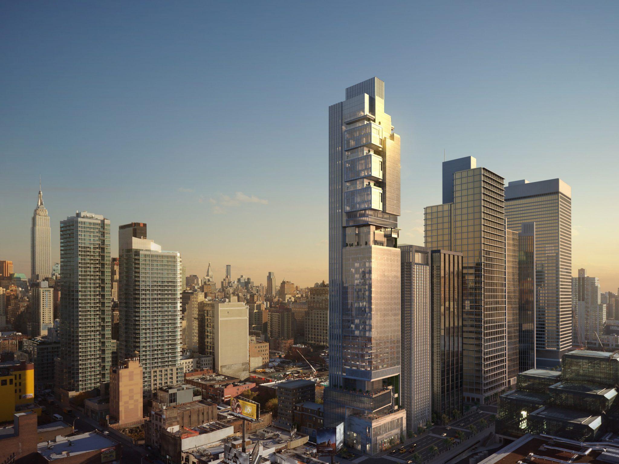 New York Hudson Yards Mixed-Use Development