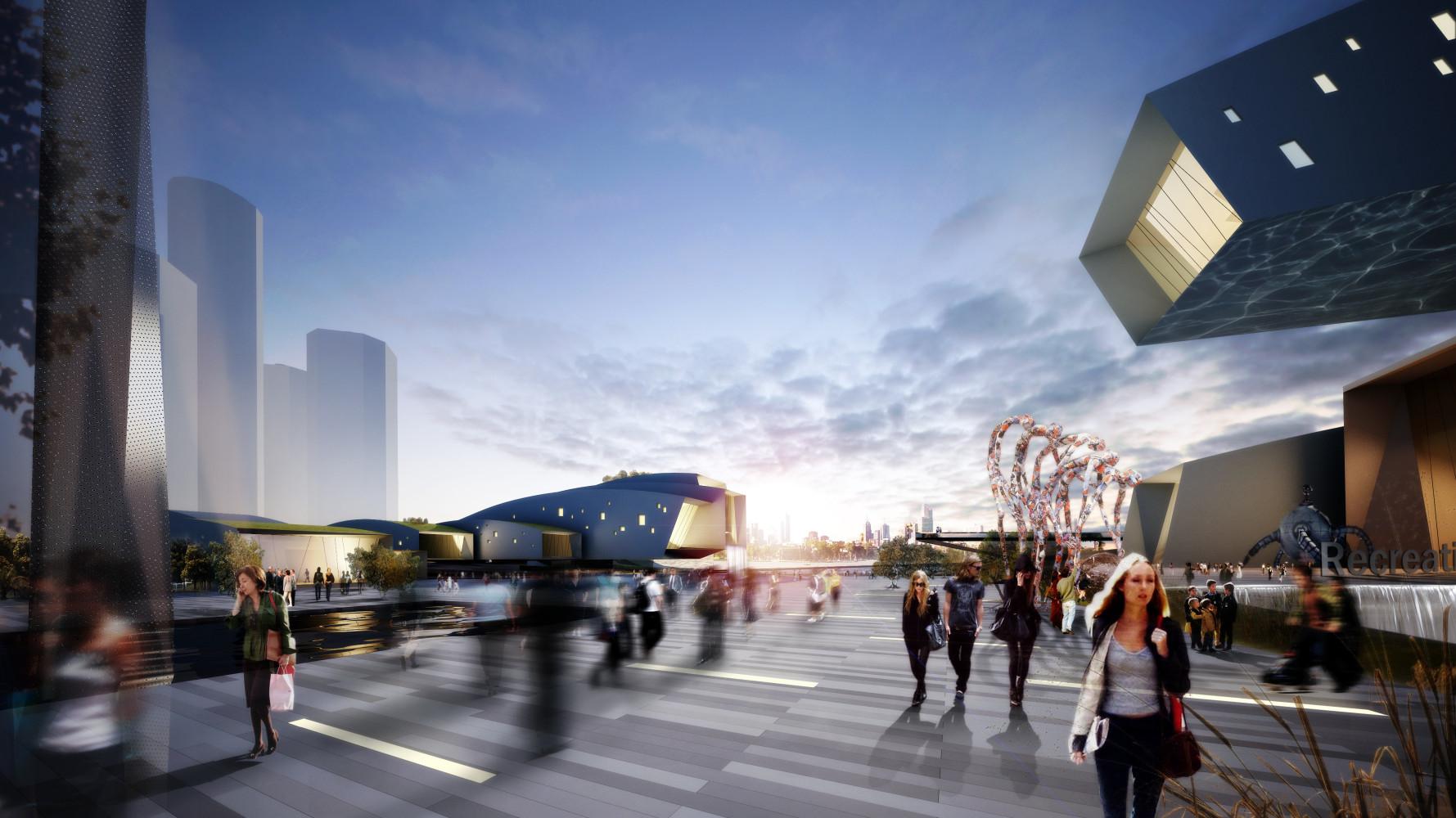 Detroit Riverfront Development, by Archilier Architecture