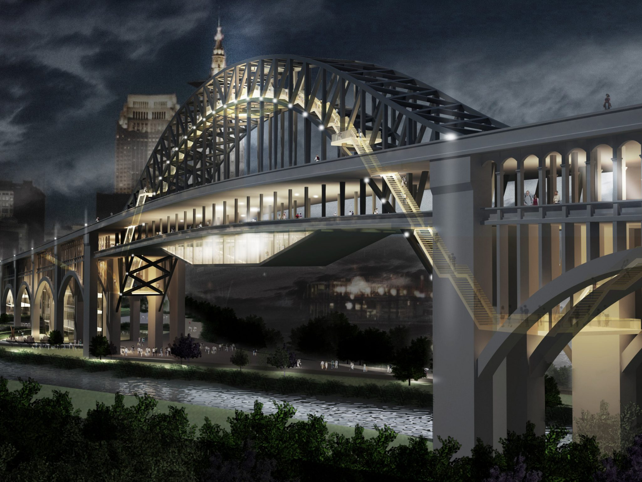 Cleveland International Design Competition (First Place)