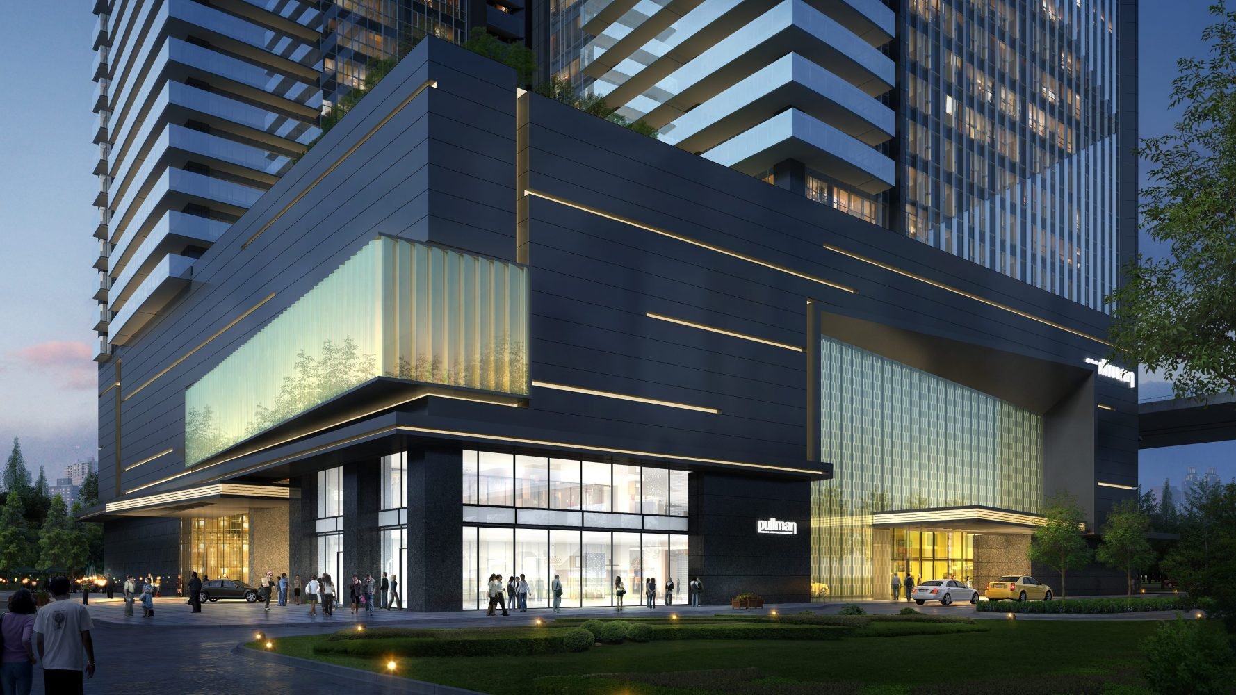 HangZhou ZhuoYue Pullman Hotel and Twin Towers, by Archilier Architecture
