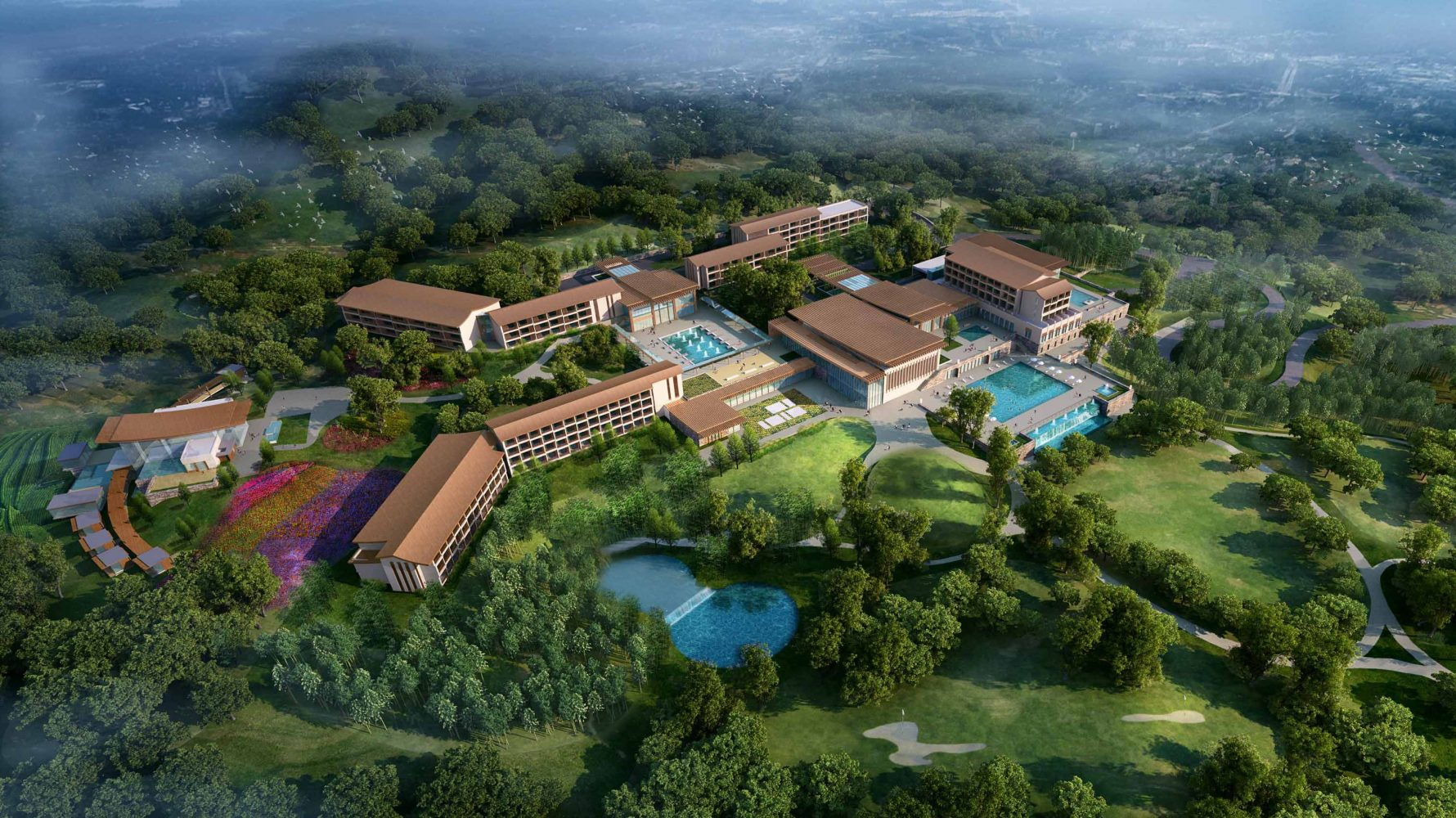 CLUB MED RESORT ANJI, by archilier architecture